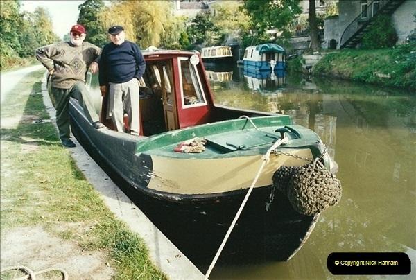 2002-09-28 to 10-04. Kennet & Avon Canal & River Trowbridge to Bristol. (22)638