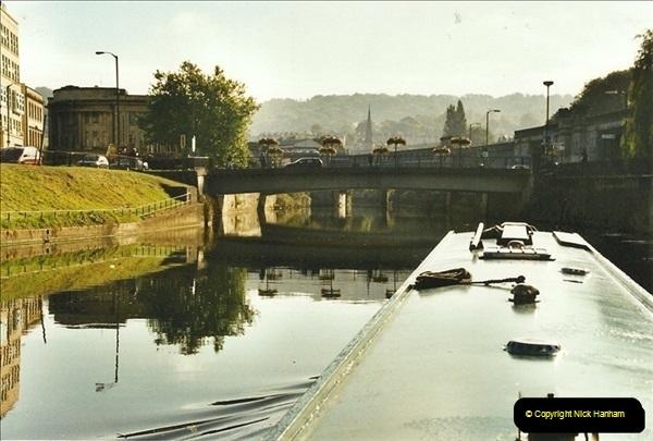 2002-09-28 to 10-04. Kennet & Avon Canal & River Trowbridge to Bristol. (34)650