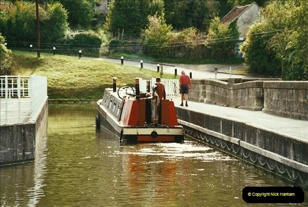 2002-09-28 to 10-04. Kennet & Avon Canal & River Trowbridge to Bristol. (45)661