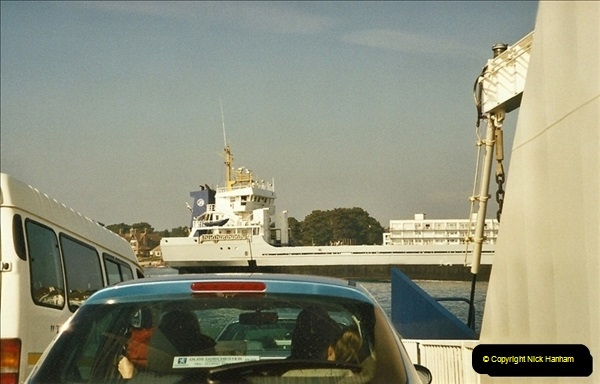 2003-03-25 On the ferry @ The haven, Poole, Dorset.670