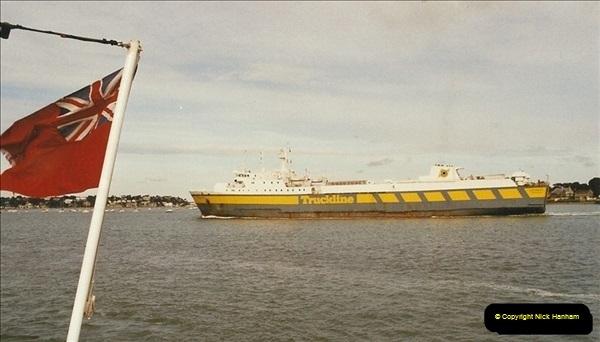 2003-05-15. Poole Harbour, Dorset.679