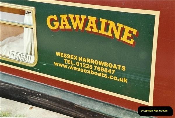2003-09-21 to 27. Kennet & Avon Canal Cane Flight Locks to Bath.  (3)692