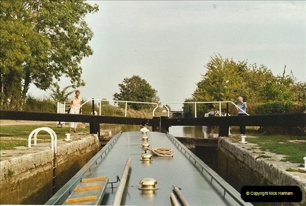 2003-09-21 to 27. Kennet & Avon Canal Cane Flight Locks to Bath.  (9)698
