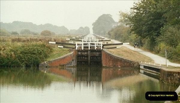 2003-09-21 to 27. Kennet & Avon Canal Cane Flight Locks to Bath.  (12)701