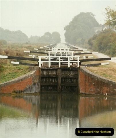 2003-09-21 to 27. Kennet & Avon Canal Cane Flight Locks to Bath.  (13)702