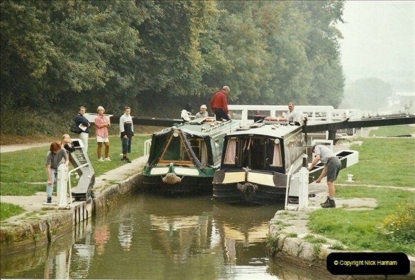 2003-09-21 to 27. Kennet & Avon Canal Cane Flight Locks to Bath.  (14)703