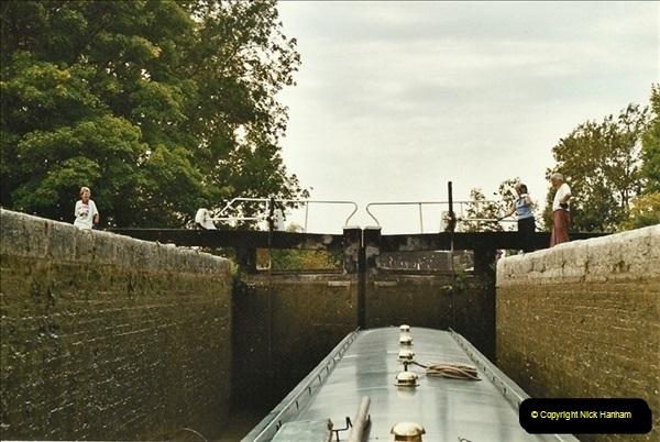2003-09-21 to 27. Kennet & Avon Canal Cane Flight Locks to Bath.  (16)705