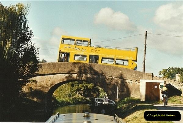2003-09-21 to 27. Kennet & Avon Canal Cane Flight Locks to Bath.  (24)713