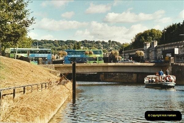 2003-09-21 to 27. Kennet & Avon Canal Cane Flight Locks to Bath.  (26)715
