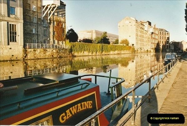 2003-09-21 to 27. Kennet & Avon Canal Cane Flight Locks to Bath.  (27)716