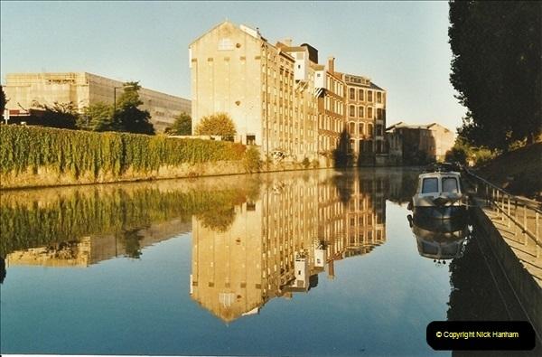2003-09-21 to 27. Kennet & Avon Canal Cane Flight Locks to Bath.  (28)717