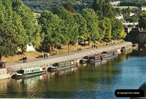 2003-09-21 to 27. Kennet & Avon Canal Cane Flight Locks to Bath.  (29)718