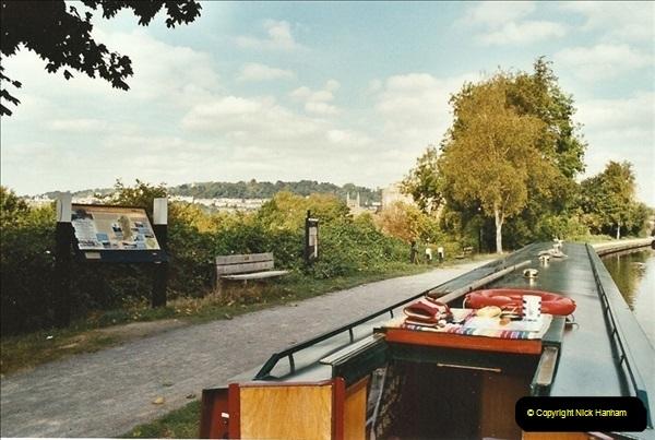 2003-09-21 to 27. Kennet & Avon Canal Cane Flight Locks to Bath.  (31)720