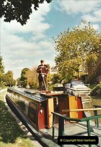 2003-09-21 to 27. Kennet & Avon Canal Cane Flight Locks to Bath.  (32)721