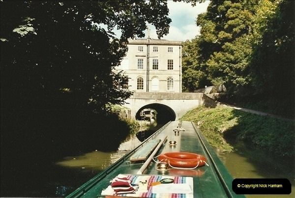 2003-09-21 to 27. Kennet & Avon Canal Cane Flight Locks to Bath.  (33)722