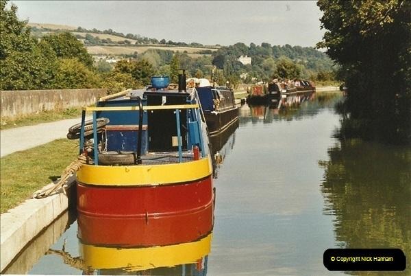2003-09-21 to 27. Kennet & Avon Canal Cane Flight Locks to Bath.  (34)723