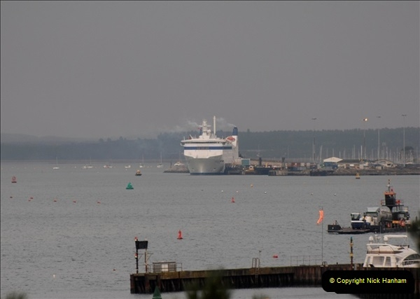 2011-02-28 The Barfleur Returns to Poole.  (5)005