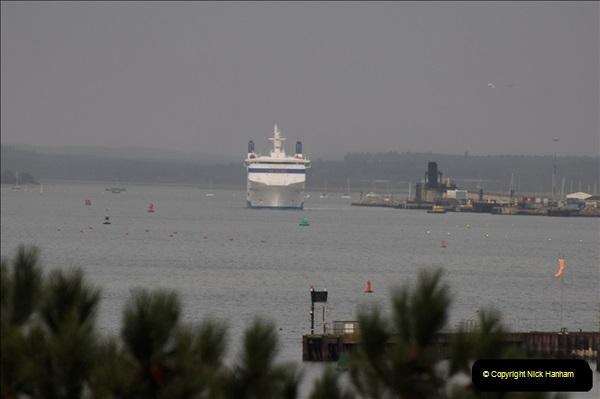 2011-02-28 The Barfleur Returns to Poole.  (6)006