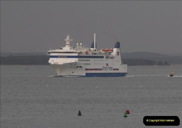 2011-02-28 The Barfleur Returns to Poole.  (8)008