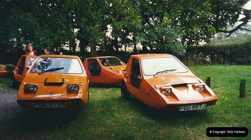 1999-08-13 A Bond Bug Rally @ Foston Lock, Northamptonshire.  (1)043043