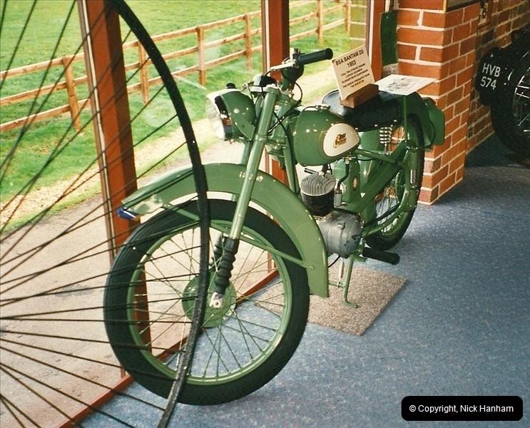 2000-10-29 Sammy Miller Motorcycle Museum, New Milton, Hampshire.  (10)132132