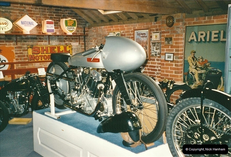 2000-10-29 Sammy Miller Motorcycle Museum, New Milton, Hampshire.  (11)133133