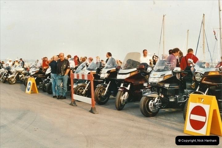 2001-08-14. Bikers Night, Poole Quay, Poole, Dorset.  (3)164164
