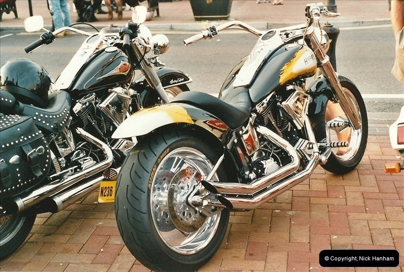 2001-08-14. Bikers Night, Poole Quay, Poole, Dorset.  (6)167167
