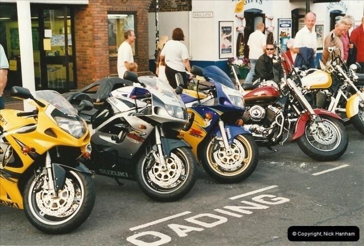 2001-08-14. Bikers Night, Poole Quay, Poole, Dorset.  (7)168168