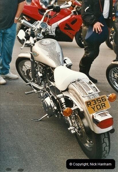 2001-08-14. Bikers Night, Poole Quay, Poole, Dorset.  (18)179179