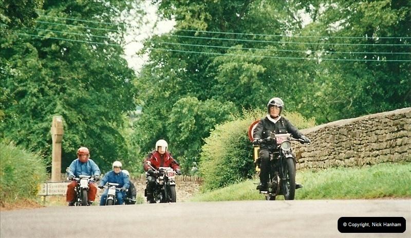 2002-06-17. The Vintage Motorcycle Club's Banbury Run, Banbury, Oxfordshire. (32)236236
