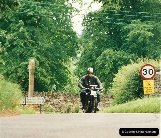 2002-06-17. The Vintage Motorcycle Club's Banbury Run, Banbury, Oxfordshire. (34)238238