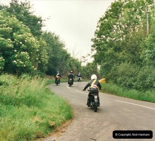 2002-06-17. The Vintage Motorcycle Club's Banbury Run, Banbury, Oxfordshire. (37)241241
