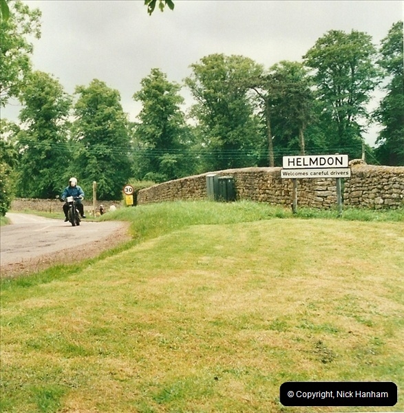 2002-06-17. The Vintage Motorcycle Club's Banbury Run, Banbury, Oxfordshire. (38)242242