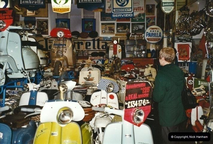 2004-01-07. The Lambretta Museum, Weston Super Mare, Somerset.  (1)443443