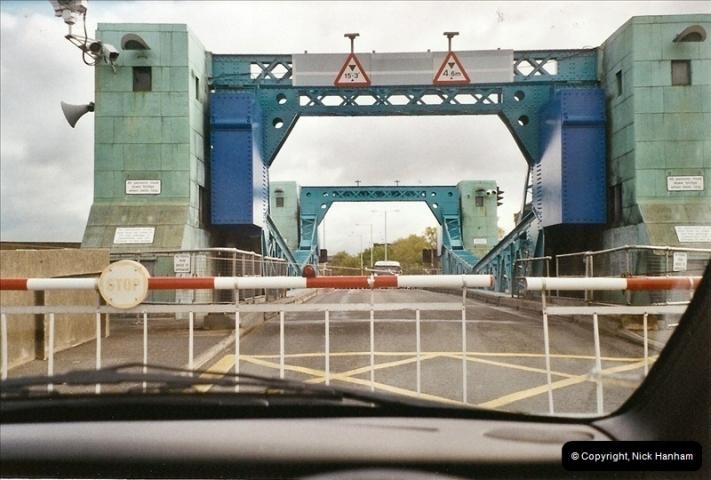 2004-05-13. Poole Bridge, Dorset.  Being Raised.  (1)462462