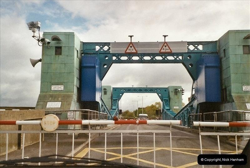 2004-05-13. Poole Bridge, Dorset.  Being Raised.  (2)463463
