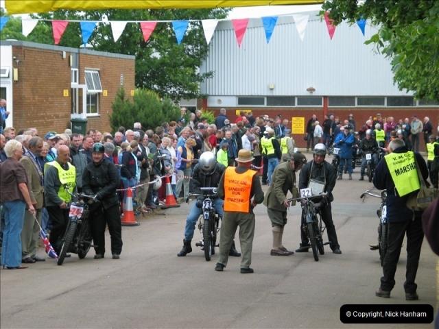 2004-06-19 VMCC (Vintage Motor Cycle Club) Banbury Run, Banbury, Oxfordshire.  (1)474474