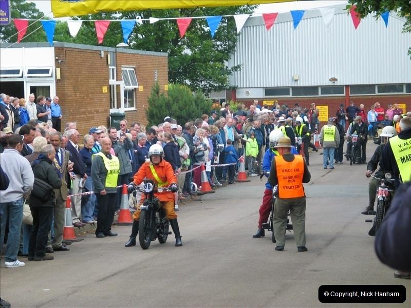 2004-06-19 VMCC (Vintage Motor Cycle Club) Banbury Run, Banbury, Oxfordshire.  (3)476476