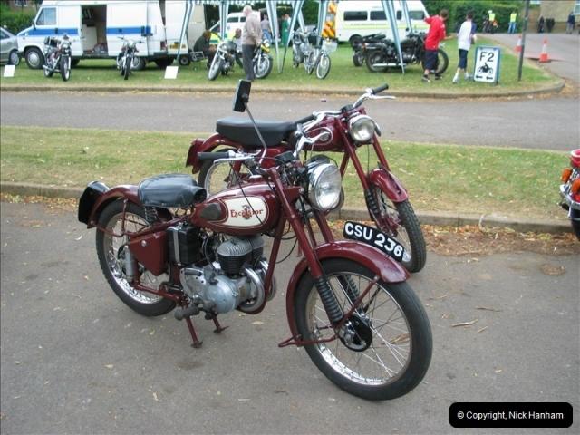 2004-06-19 VMCC (Vintage Motor Cycle Club) Banbury Run, Banbury, Oxfordshire.  (6)479479