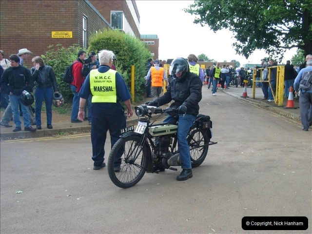2004-06-19 VMCC (Vintage Motor Cycle Club) Banbury Run, Banbury, Oxfordshire.  (8)481481
