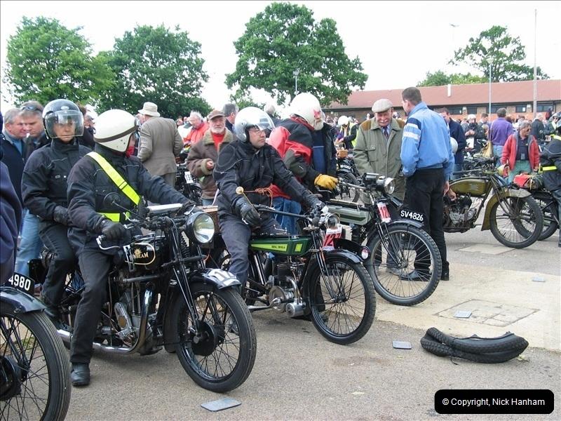 2004-06-19 VMCC (Vintage Motor Cycle Club) Banbury Run, Banbury, Oxfordshire.  (9)482482