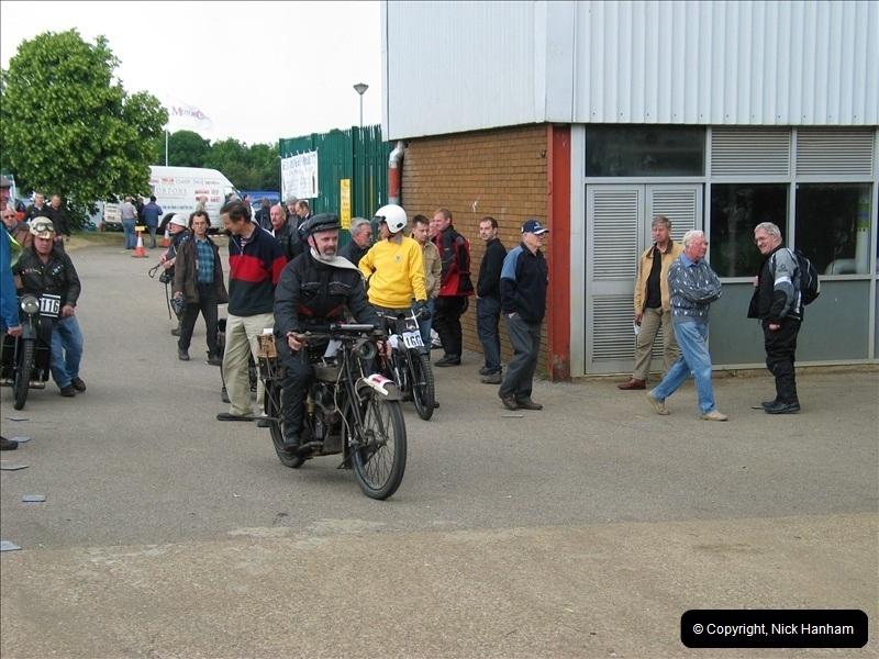 2004-06-19 VMCC (Vintage Motor Cycle Club) Banbury Run, Banbury, Oxfordshire.  (10)483483