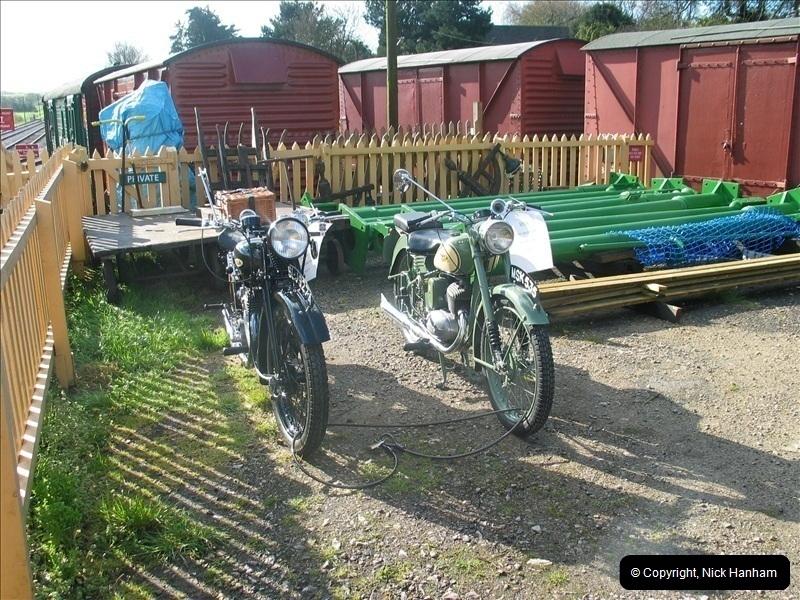 2005-04-16 & 17 Swanage Railway 50s & 60s Event @ Corfe Castle, Dorset.  (3)595595