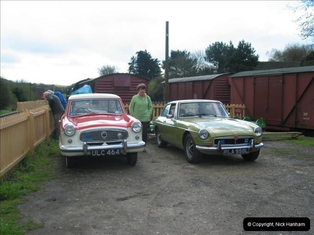 2005-04-16 & 17 Swanage Railway 50s & 60s Event @ Corfe Castle, Dorset.  (7)599599