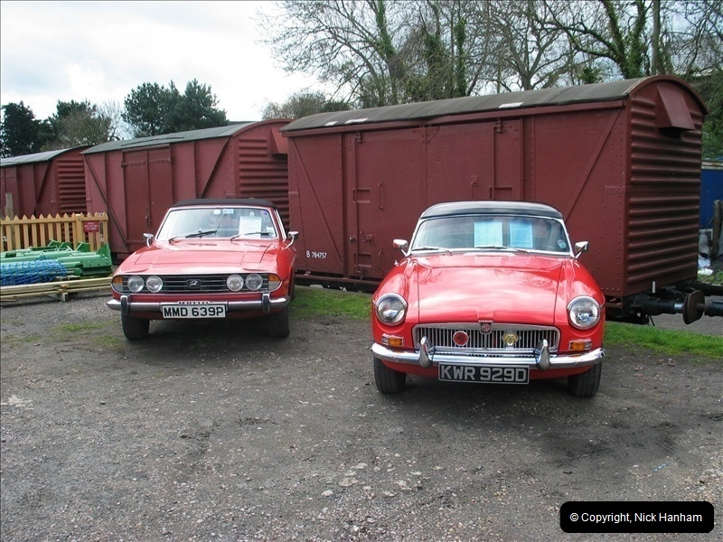 2005-04-16 & 17 Swanage Railway 50s & 60s Event @ Corfe Castle, Dorset.  (13)605605