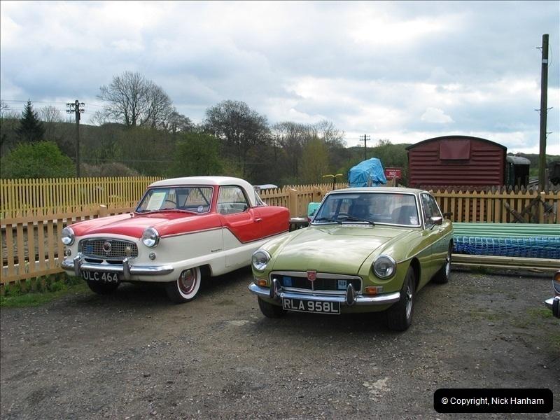 2005-04-16 & 17 Swanage Railway 50s & 60s Event @ Corfe Castle, Dorset.  (14)606606