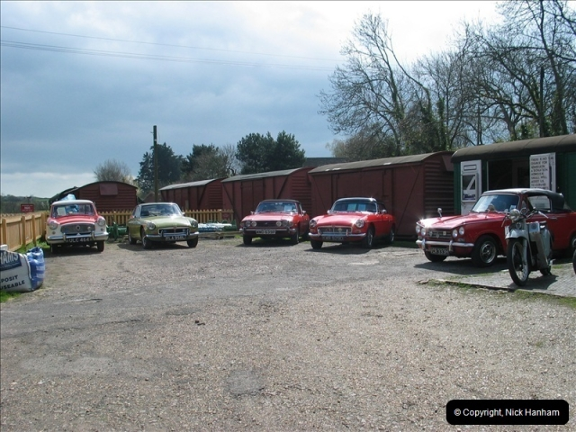 2005-04-16 & 17 Swanage Railway 50s & 60s Event @ Corfe Castle, Dorset.  (20)612612