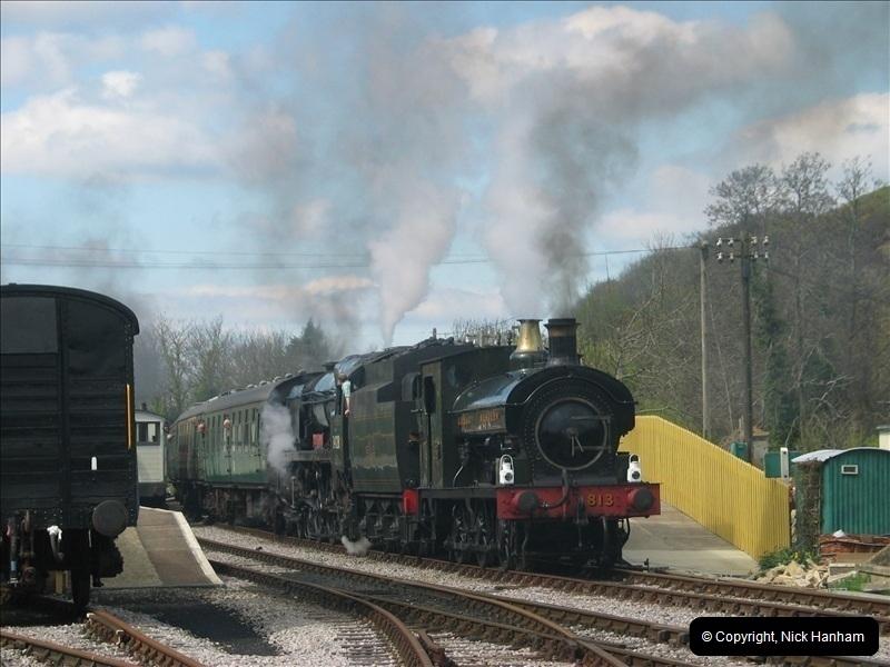 2005-04-16 & 17 Swanage Railway 50s & 60s Event @ Corfe Castle, Dorset.  (21)613613