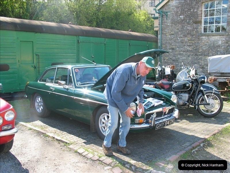 2005-04-16 & 17 Swanage Railway 50s & 60s Event @ Corfe Castle, Dorset.  (24)616616